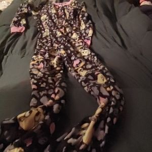 Women's size medium Tweety Bird footie pajamas